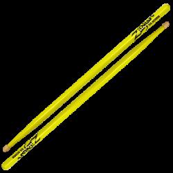 Zildjian - pałki Hickory Series 5A Acorn Neon Yellow 5ACWDGY
