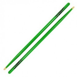 Zildjian - pałki Hickory Series 5A Acorn Neon Green 5ACWDGG