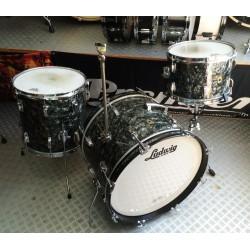 Ludwig - Perkusja Downbeat  Vintage 1965 - Black Diamond Pearl