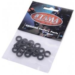 Tama - Podkładki nylonowe czarne - 20 szt. PW620
