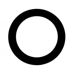 Aquarian - Port Hole - wzmocnienie do otworu w naciągu centrali czarne 5''