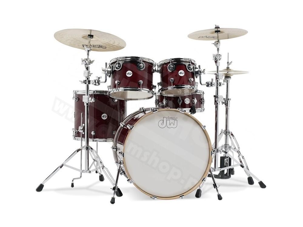 DW - Perkusja Design Series - Cherry Stain