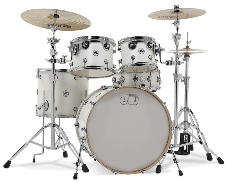 DW - Perkusja Design Series - White Satin