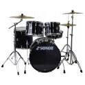 Sonor - perkusja Freshman Stage 1 + komplet talerzy