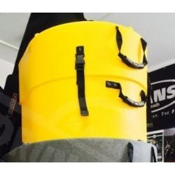 Hardcase - Case 18'' na centralę - HNP 18B Yellow