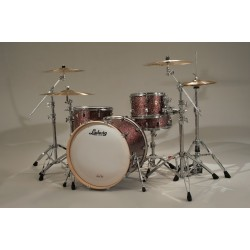 Ludwig - Perkusja Keystone Series PowerBeat - Apple Glass Shellset