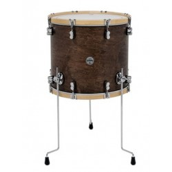 "PDP by DW - floortom Concept Classic 18"" x 16"" Walnut"