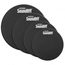 Evans - Wyciszacze Sound Off na bębny Fusion
