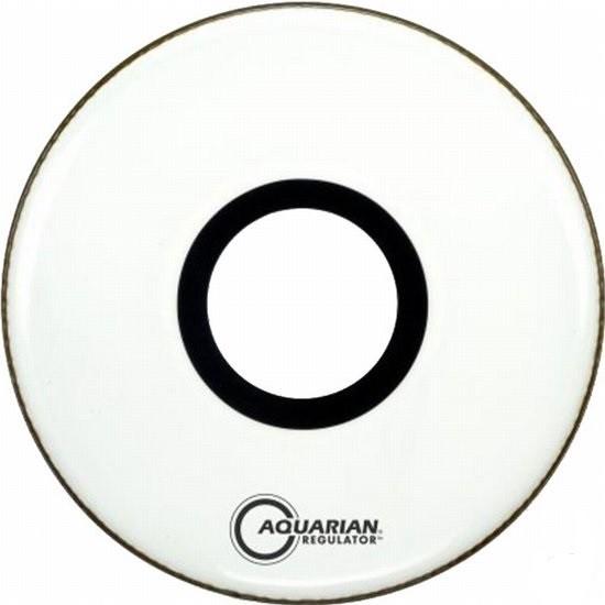 Aquarian - naciąg Regulator z otworem RPT 22'' White