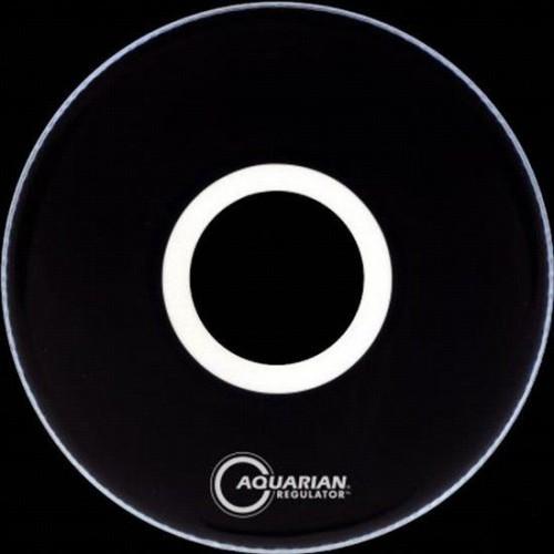 Aquarian - naciąg Regulator z otworem RPT 22'' Black