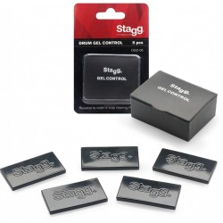 Stagg - Żelki tłumiące Drum Gel Control - Black