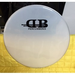 DB Percussion  - naciąg pojedynczy Smooth White 24""