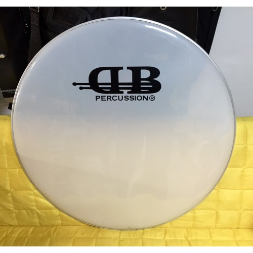 DB Percussion  - naciąg pojedynczy Smooth White 26""