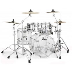 "Pearl - Perkusja akrylowa Crystal Beat Ultra Clear Shellset 22"""