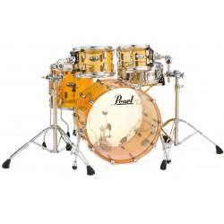 "Pearl - Perkusja akrylowa Crystal Beat Tangerine Glass Shellset 22"""