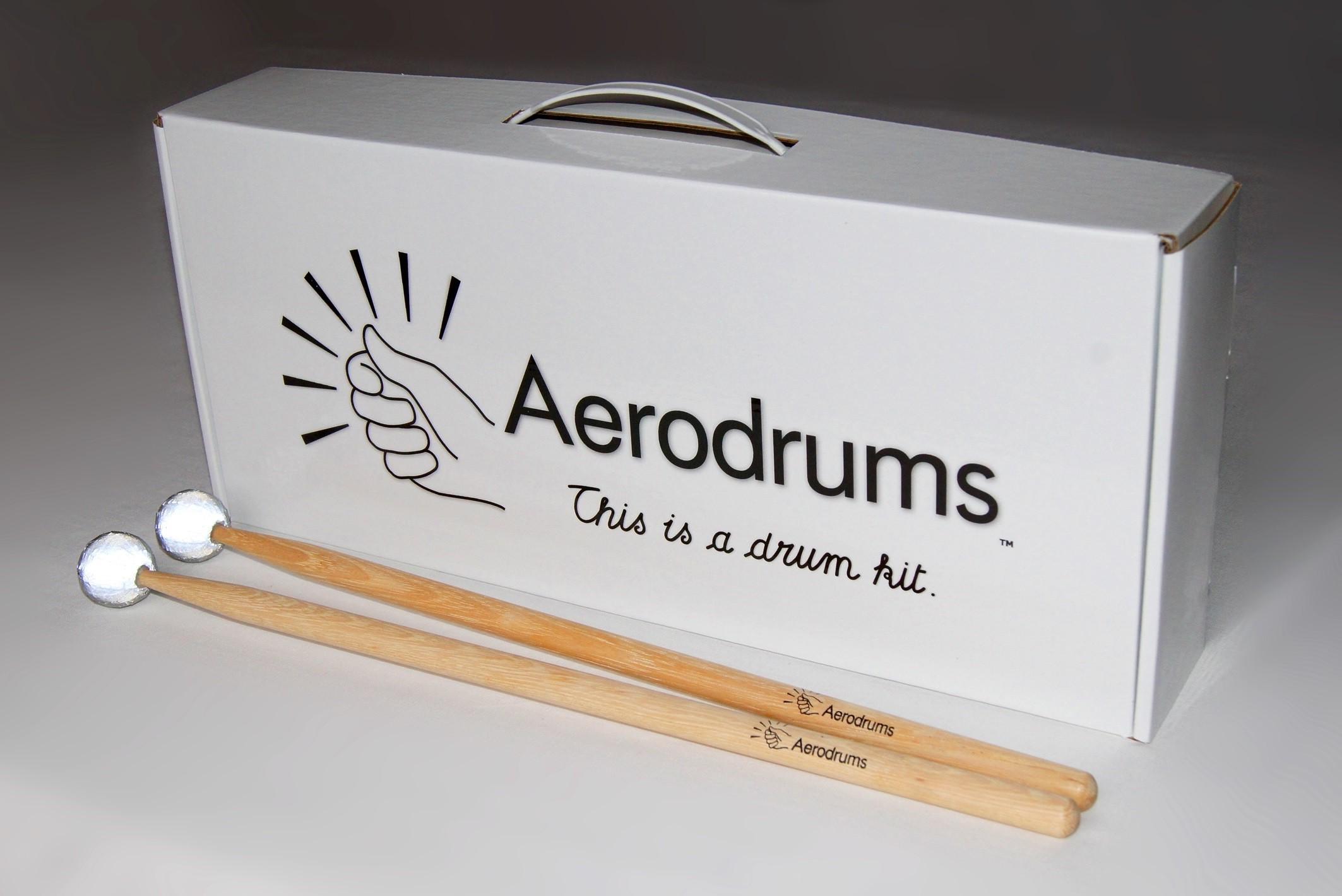 """Aerodrums - """"Powietrzna"""" perkusja elektroniczna"""