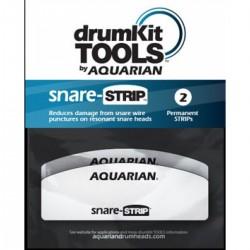 Aquarian - Snare Strip - łatka wzmacniająca naciąg rezonansowy werbla - 2 sztuki