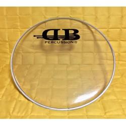 """DB Percussion  - naciąg podwójny Clear 20"""""""
