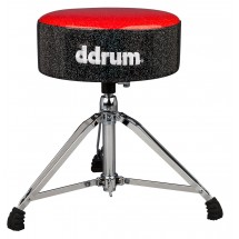 DDrum - Stołek perkusyjny Mercury Fat Red/Black
