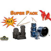 """PDP by DW - Concept Maple CM5 20"""" Shellset  + pokrowce Super Pack"""