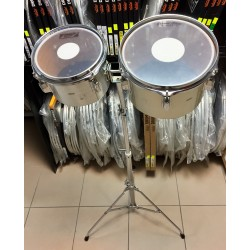 """Pearl - Timbalesy/concert tomy 8"""" + 10"""" Maxwin Vintage"""