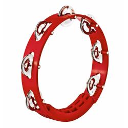 Meinl - Tamburyn jednorzędowy czerwony - HTT8R