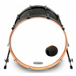 Evans - naciąg EQ3 Resonant Coated 18''