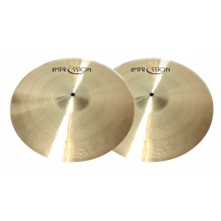Impression Cymbals - Traditional Hi-hat 15""
