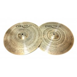 Impression Cymbals - Smooth Hi-hat 14""