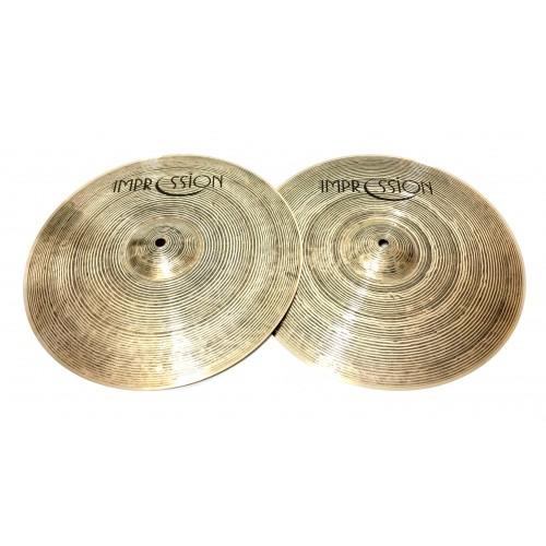 "Impression Cymbals - Smooth Hi-hat 12"""