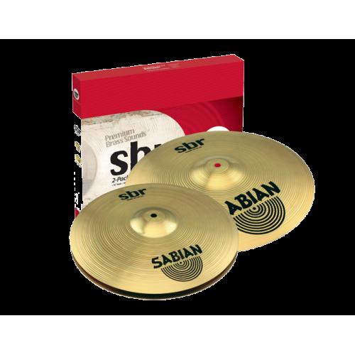 Sabian - zestaw talerzy SBR 2-pack 14'' 18''