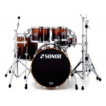 Sonor - perkusja Ascent Stage 1 Burnt Fade Shellset