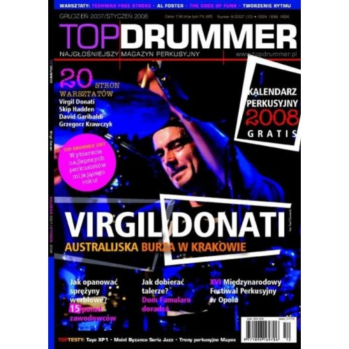 Topdrummer nr 6/2007 (10) - magazyn perkusyjny