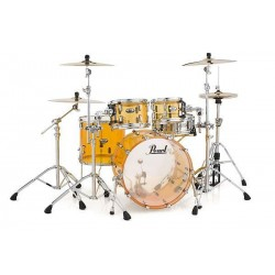 "Pearl - Perkusja akrylowa Crystal Beat Tangerine Glass Shellset 20"""