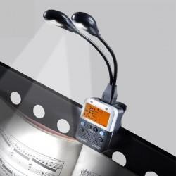 Cherub - Metronom z klipsem i lampką WSM-002