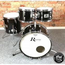 "Rogers - Perkusja ""Big R"" Black Vintage '70s"