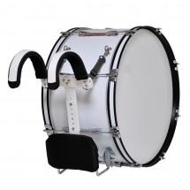 MES - Bęben marszowy MMX 20''x12'' - biały