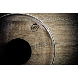 WS Drumheads - Clear Dot 18""