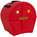 Hardcase - Case 14'' na tom HN14TRed - czerwony