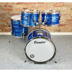 Premier - perkusja Olympic Royal Blue Swirl vintage - lata 70.