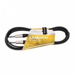 Roxtone - SAMURAI SGJJ100L3 kabel instrumentalny jack-jack mono 3 m