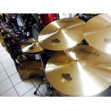 "Amedia - Zestaw talerzy Classic 14'' 16'' 20'' + 18"" Drumshop Signature"