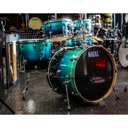 "Natal - Perkusja Arcadia Fusion Plus 22"" KAR-UFX-DW1 Blue Black Fade Lacquer"