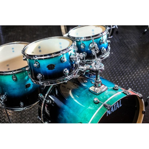 "Natal - Perkusja Arcadia Jazz 20"" KAR-UFX-DW1 Blue Black Fade Lacquer EXPO"