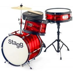 Stagg - perkusja dla dzieci Junior TIM-J-3/12-RD