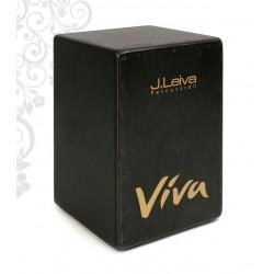 J.Leiva Percussion - cajon Viva Black Edition
