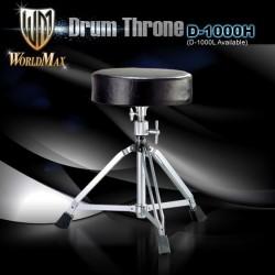 WorldMax - Stołek perkusyjny wysoki D-1000H