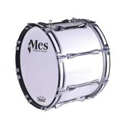 MES - Bęben marszowy MMX 20''x14'' - biały