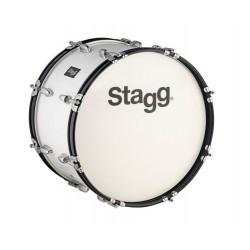 """Stagg – bęben marszowy 26"""" x 10"""" MABD-2610 - biały"""