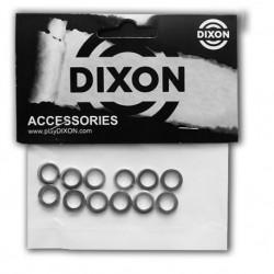 Dixon - Podkładki metalowe pod śruby naciągowe- 12 szt.